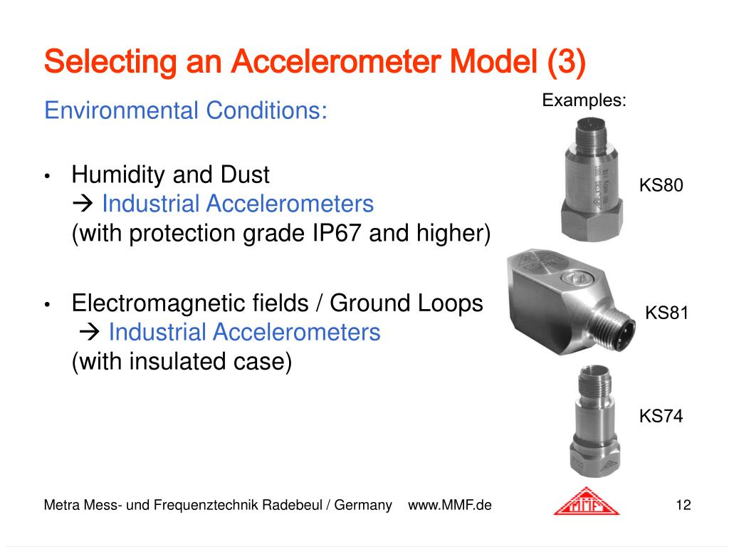 Ppt Piezoelectric Accelerometers Theory Amp Application