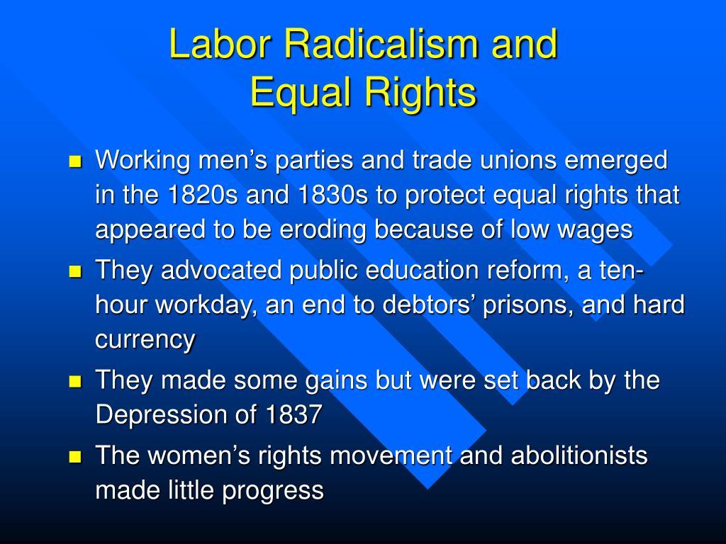 Labor Radicalism and