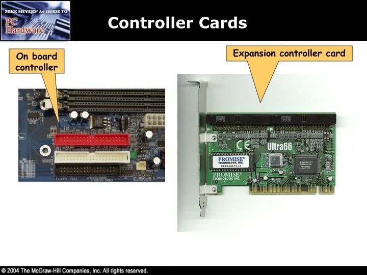 Controller Cards