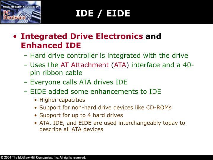 IDE / EIDE