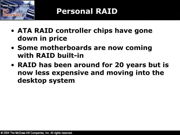 Personal RAID