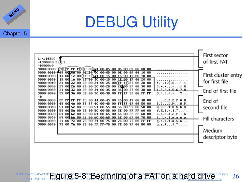DEBUG Utility