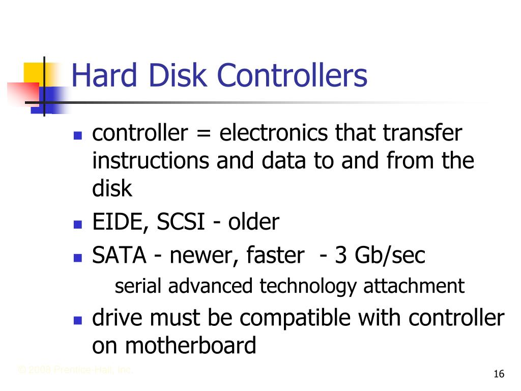 Hard Disk Controllers