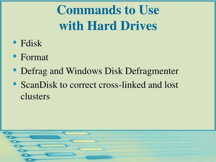 Commands to Use