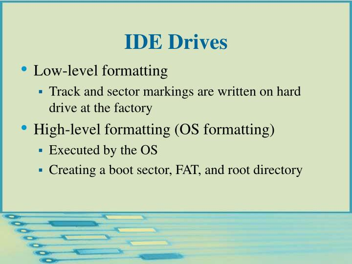 IDE Drives