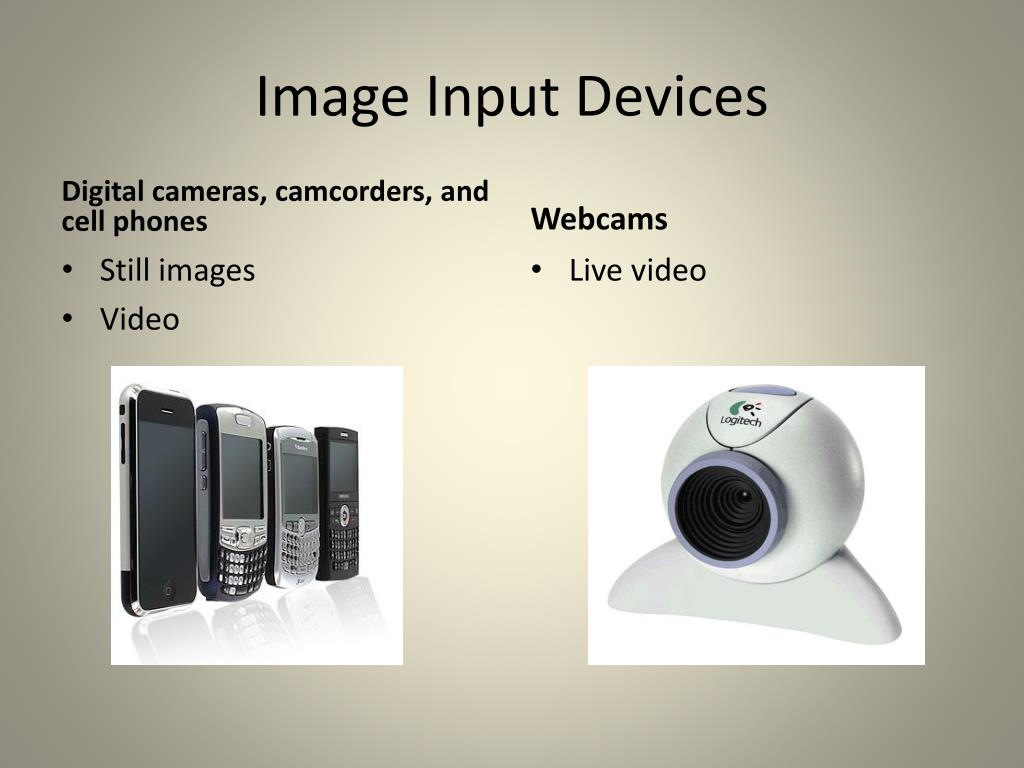 Image Input Devices