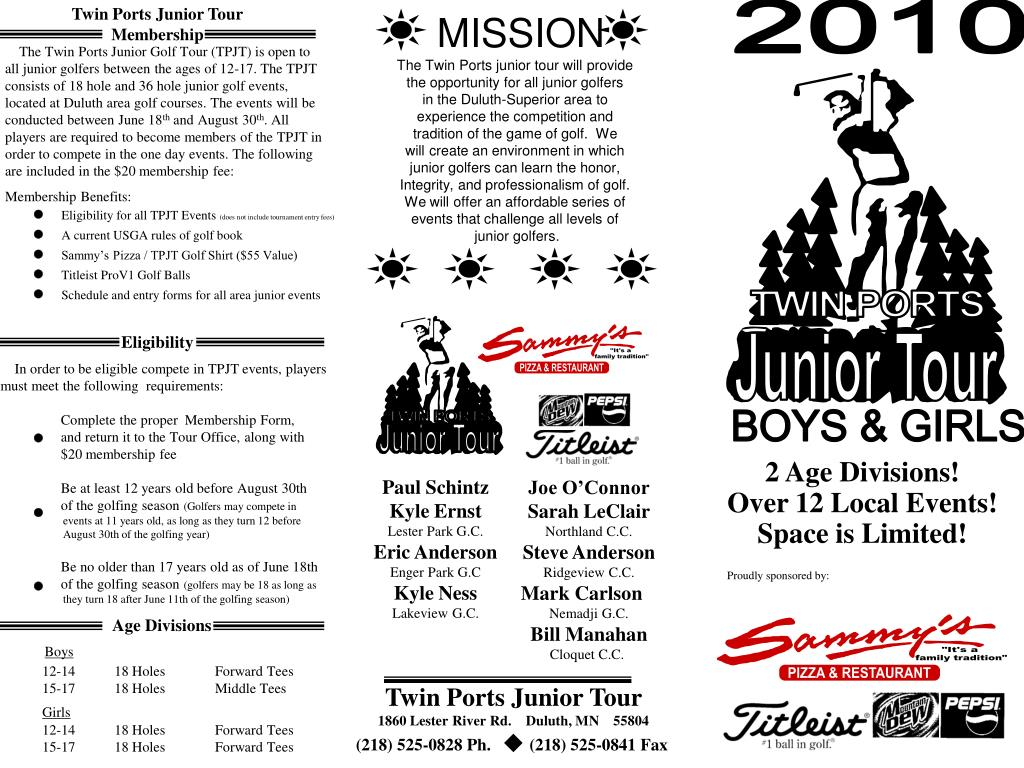 Twin Ports Junior Tour