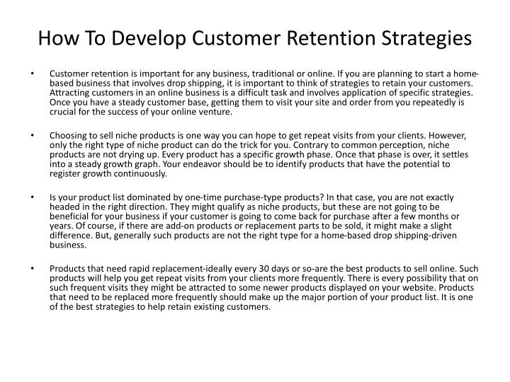 How to develop customer retention strategies l.jpg