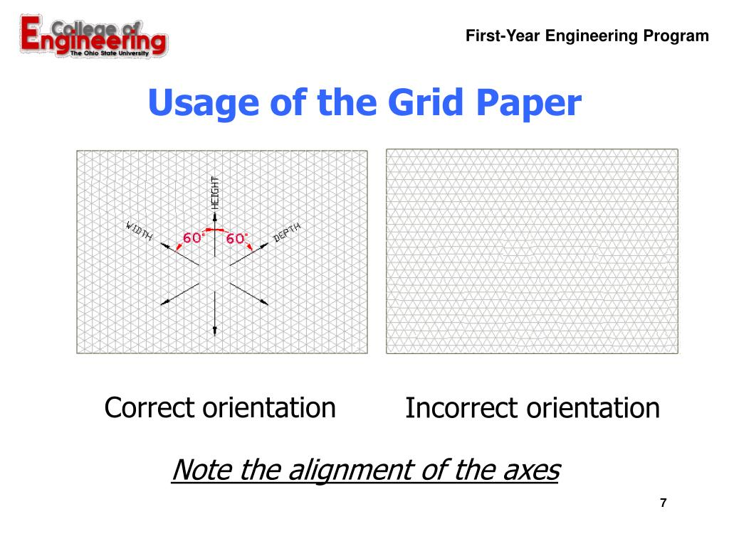 Usage of the Grid Paper
