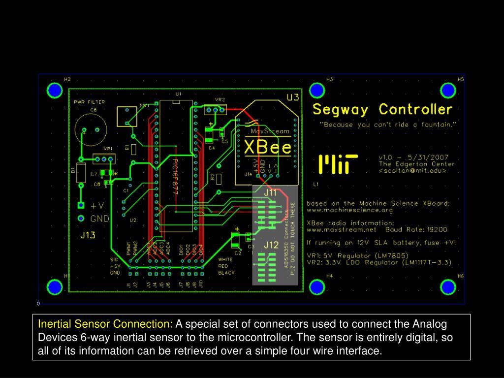 Inertial Sensor Connection: