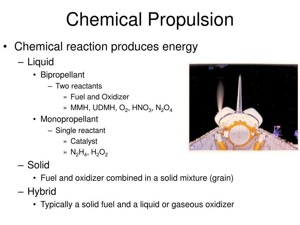 Chemical Propulsion