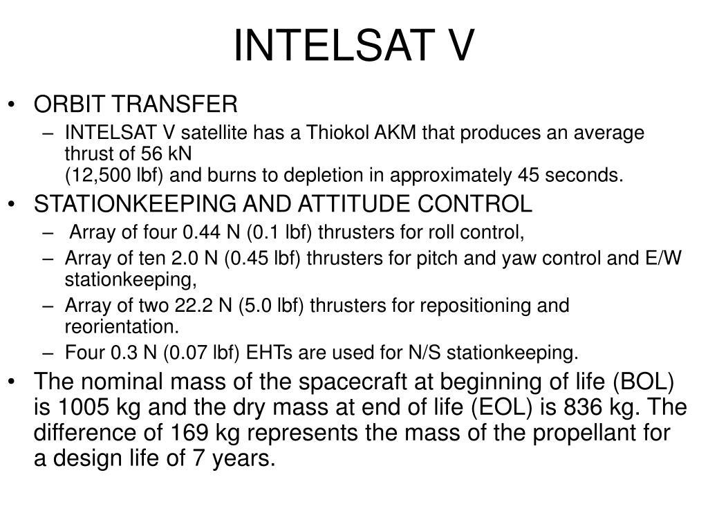 INTELSAT V