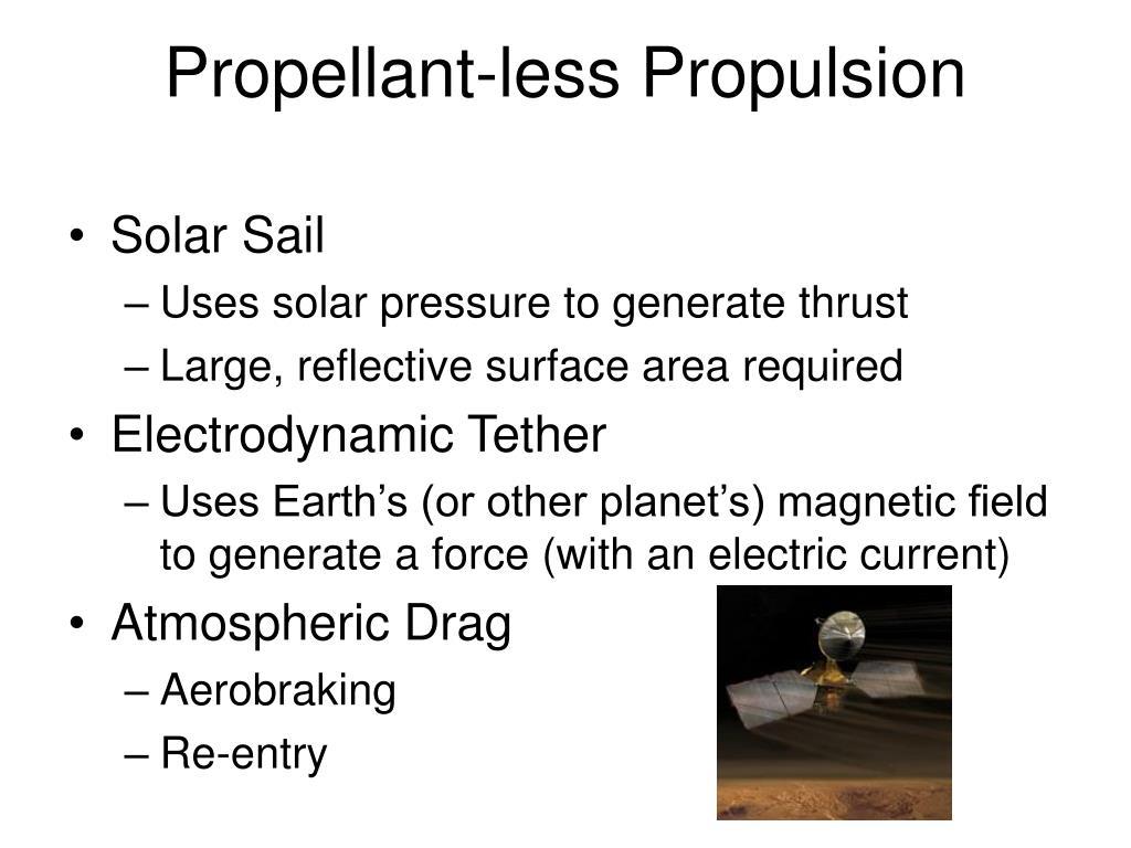 Propellant-less Propulsion