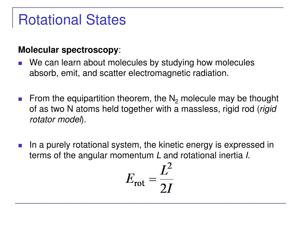 Rotational States