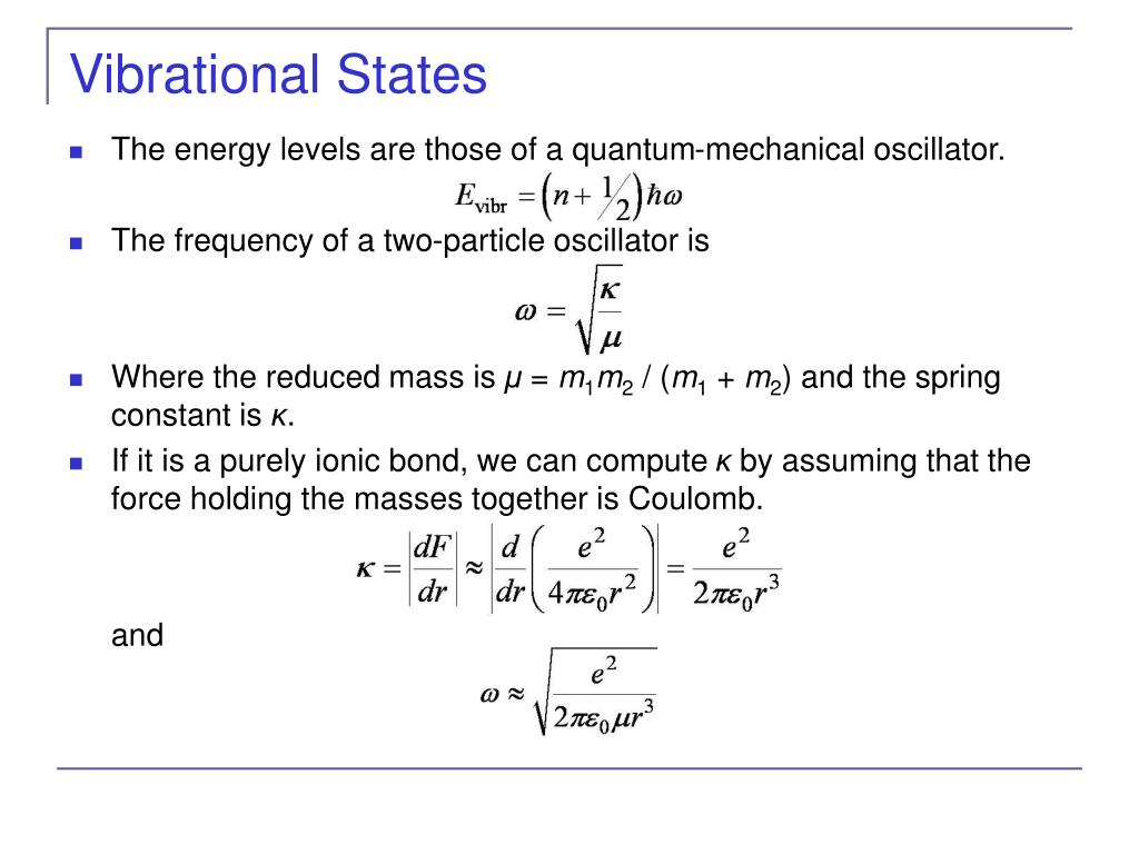 Vibrational States