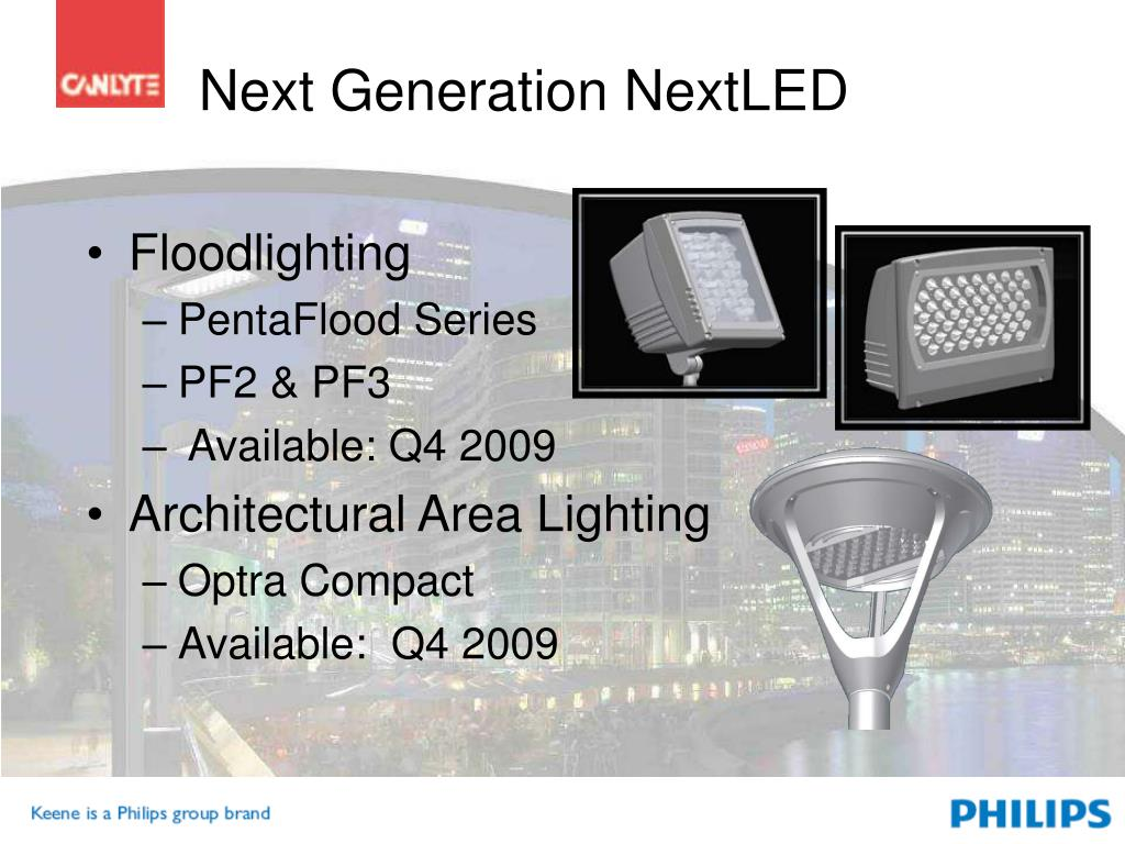 Next Generation NextLED