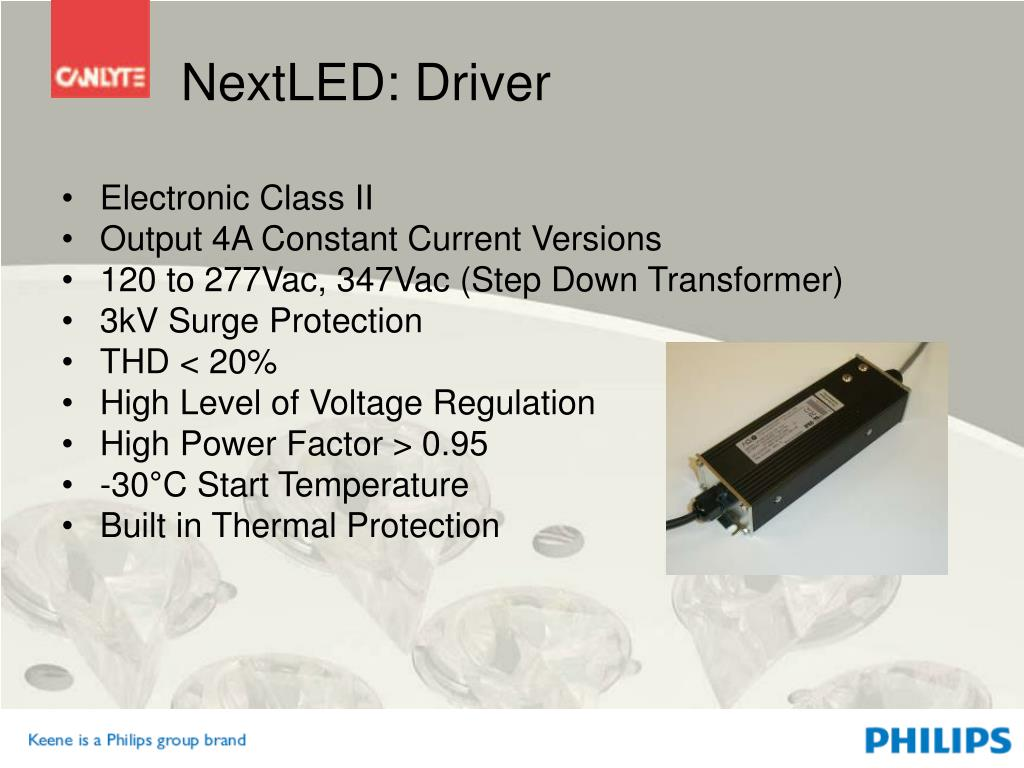 NextLED: Driver