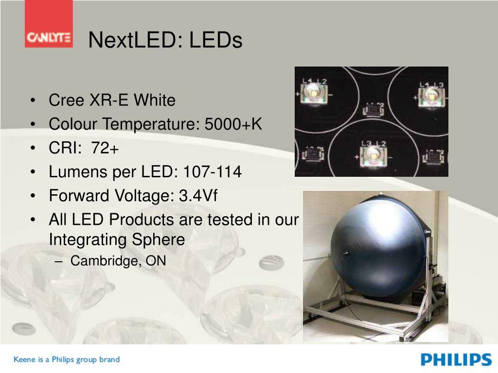 NextLED: LEDs