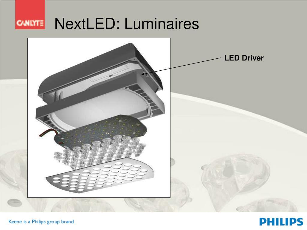 NextLED: Luminaires