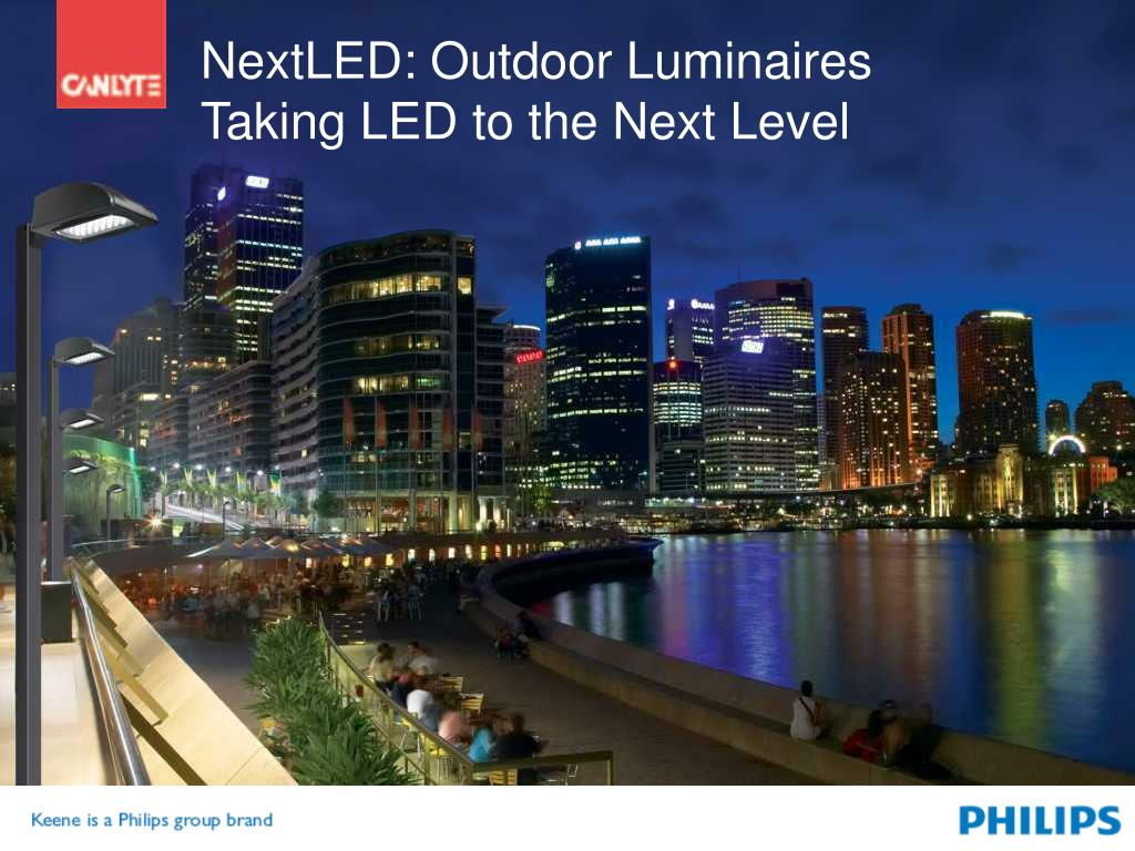 NextLED: Outdoor Luminaires