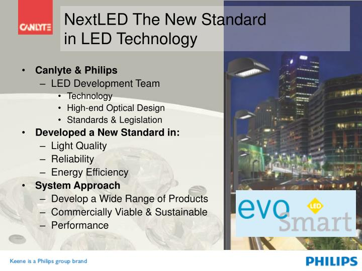 Nextled the new standard in led technology