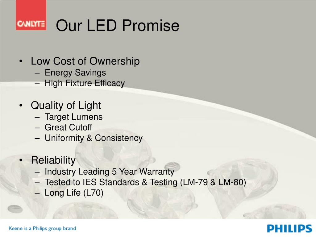 Our LED Promise