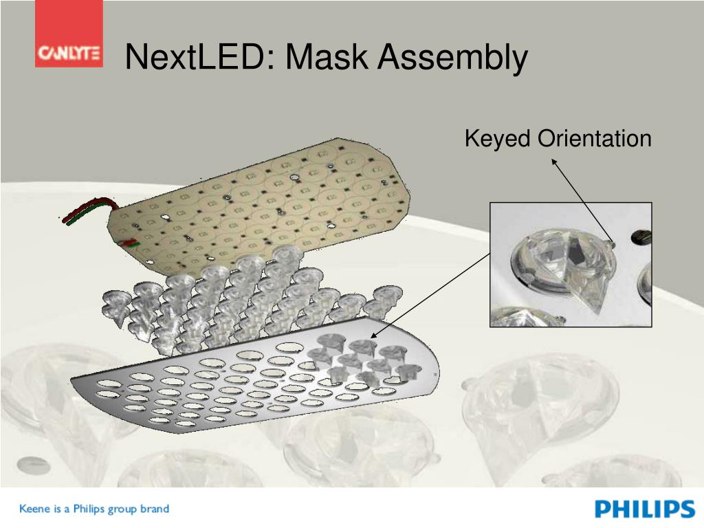 NextLED: Mask Assembly