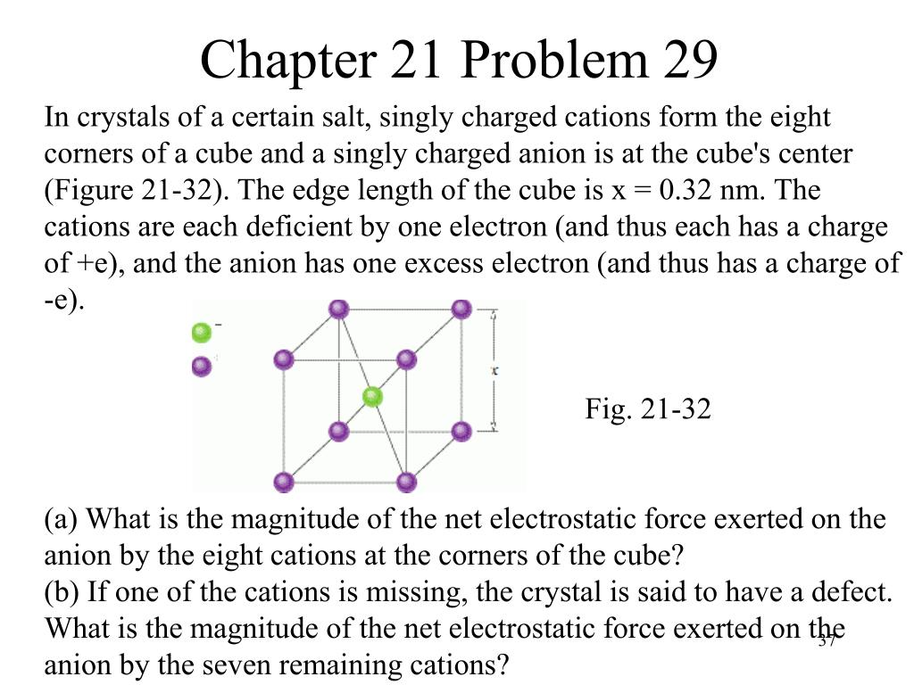 Chapter 21 Problem 29