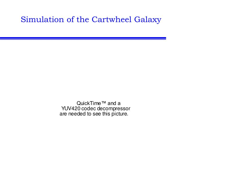 Simulation of the Cartwheel Galaxy