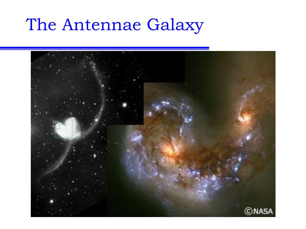 The Antennae Galaxy