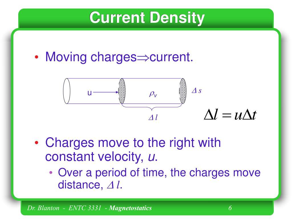 Current Density