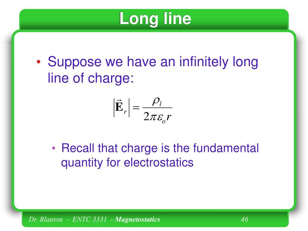 Long line