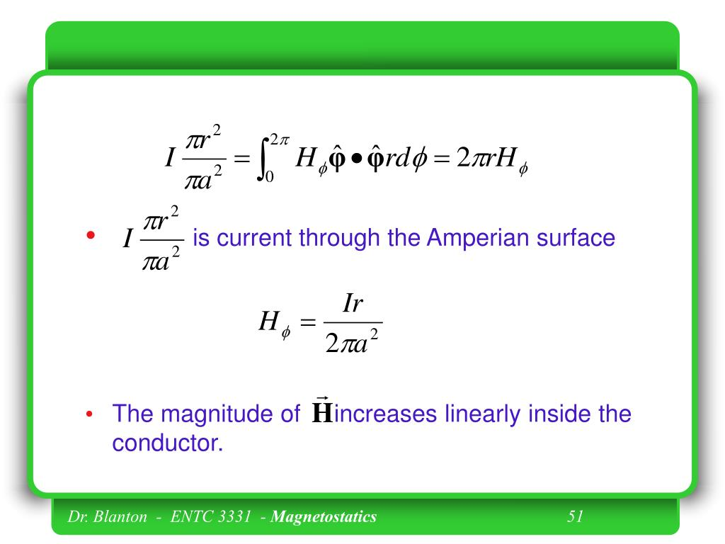 is current through the Amperian surface