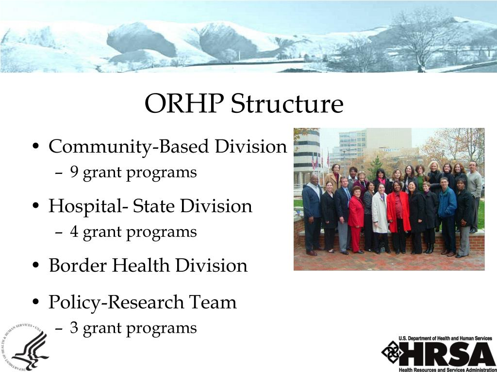 ORHP Structure