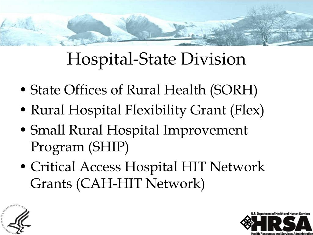 Hospital-State Division