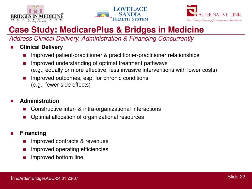 Case Study: MedicarePlus & Bridges in Medicine