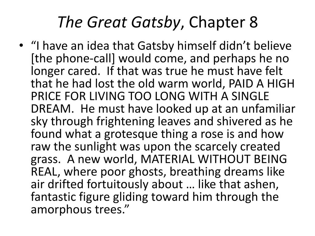 the theme of the american dream in the book the great gatsby by f scott fitzerald The great gatsby is a 1925 novel written by american author f scott fitzgerald that follows a cast of characters living in the fictional town of west and east egg on prosperous long island in the summer of 1922.