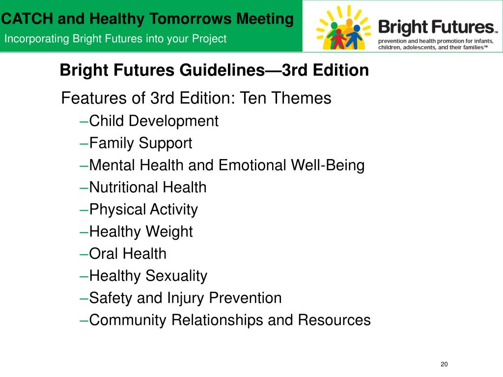 Bright Futures Guidelines—3rd Edition