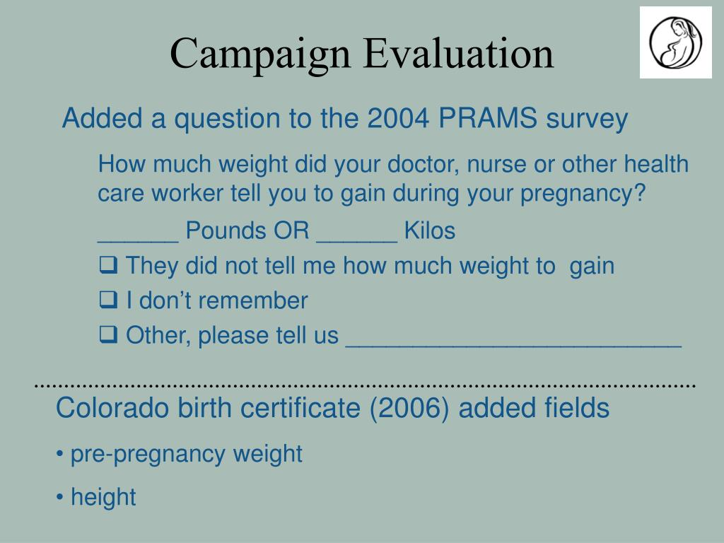 Campaign Evaluation