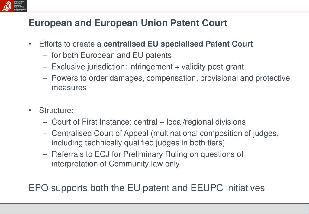 European and European Union Patent Court