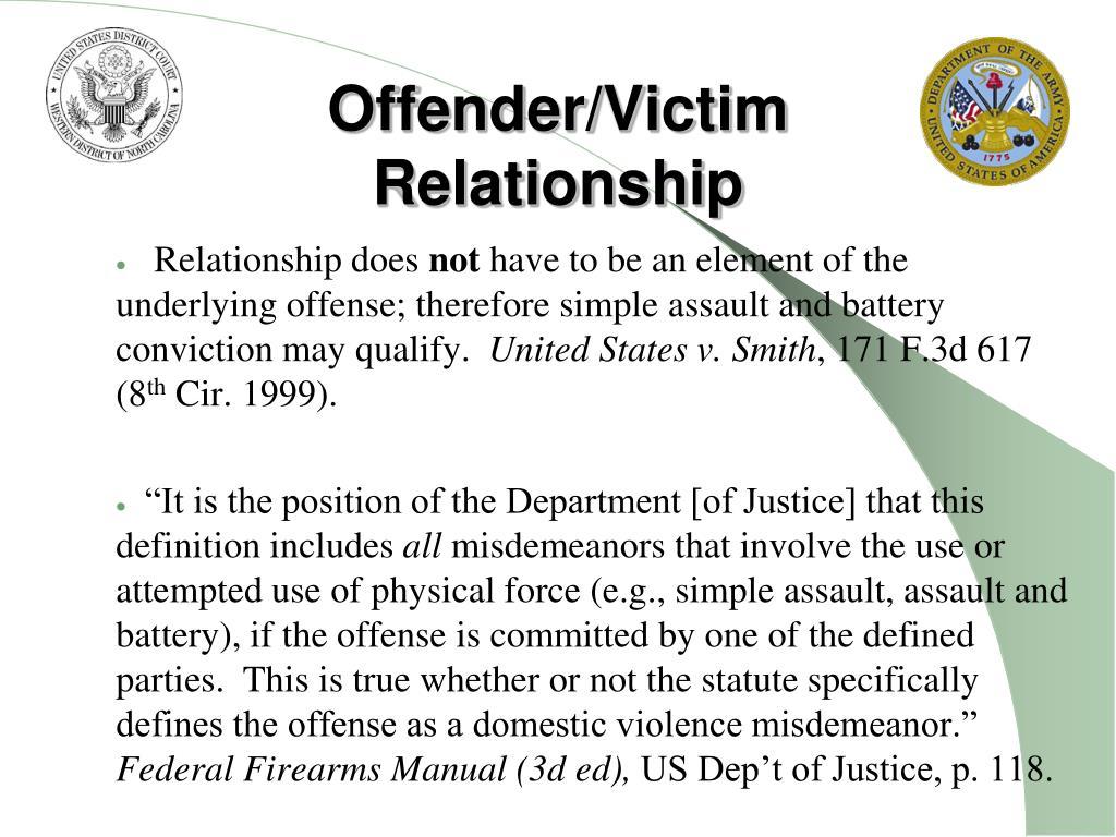 Offender/Victim