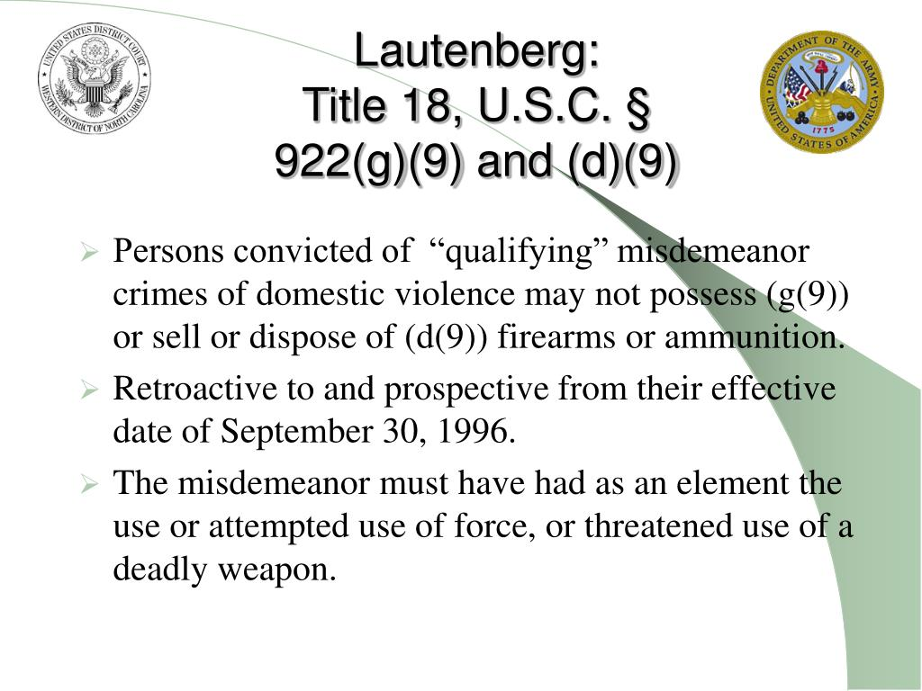 Lautenberg: