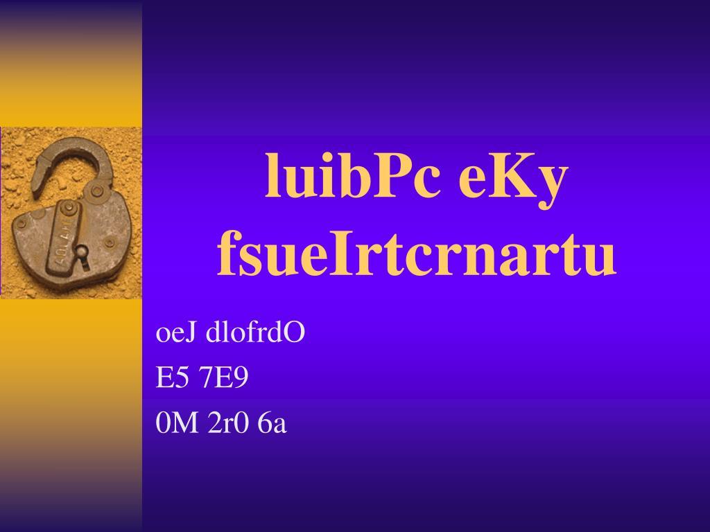 luibPc eKy