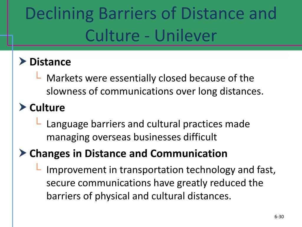 culture the ultimate barrier to trade Includes the barriers (tariff and non-tariff) that us companies face when exporting to this country.