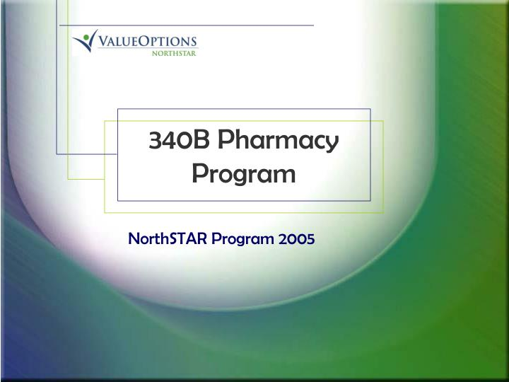 340b pharmacy program