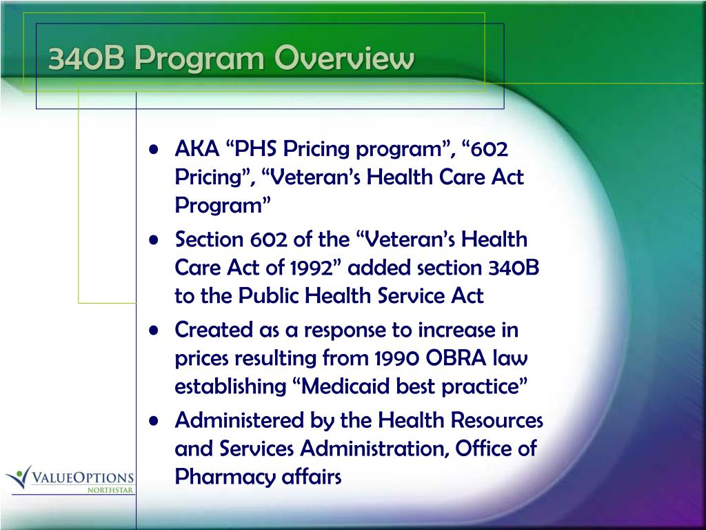 340B Program Overview