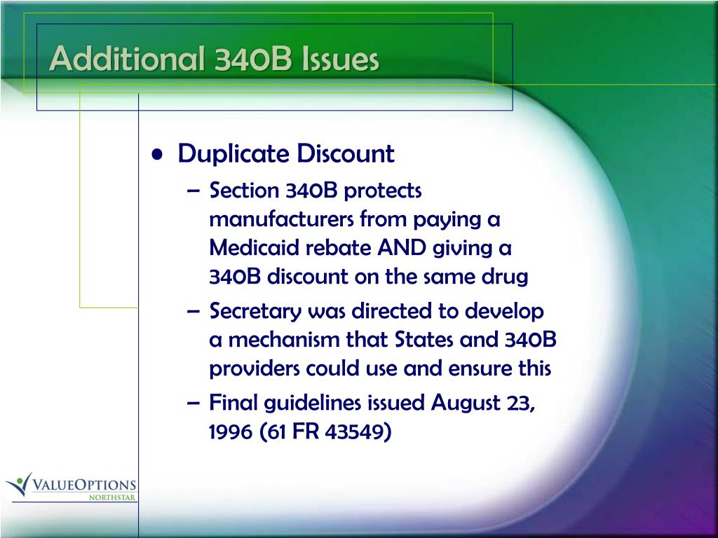 Additional 340B Issues