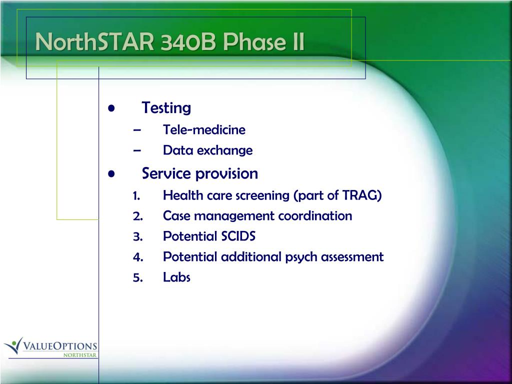 NorthSTAR 340B Phase II
