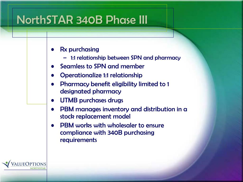 NorthSTAR 340B Phase III