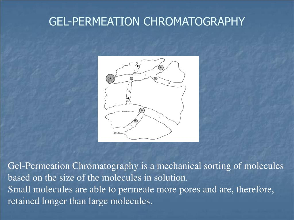 GEL-PERMEATION CHROMATOGRAPHY